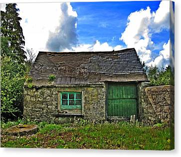 Canvas Print - The Old Forge by Roland Byrne