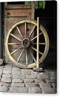 The Old Forge  Canvas Print by Stephen Norris