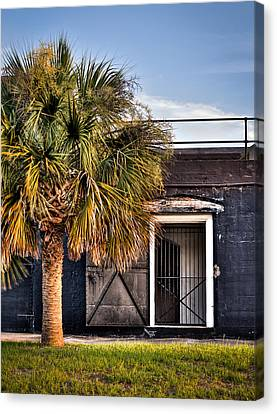 The Old Fort-color Canvas Print