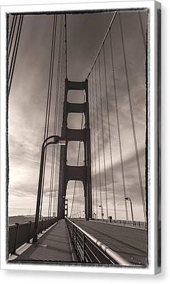 Shoreline Old Men Canvas Print - The Old Gate by Jonathan Nguyen
