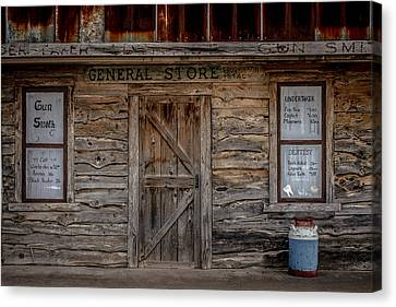 The Old General Store Canvas Print by Doug Long