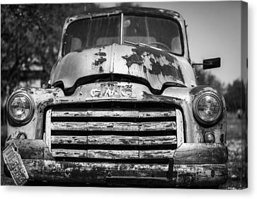 The Old Gmc Truck Canvas Print