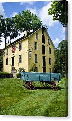 The Old Grist Mill Near Valley Forge Canvas Print by Bill Cannon