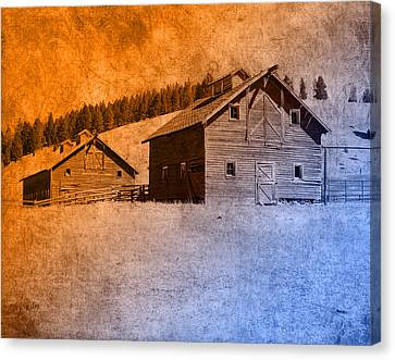 The Old Homestead Canvas Print by Fran Riley