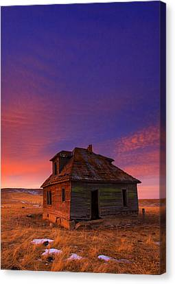 Canvas Print featuring the photograph The Old House by Kadek Susanto