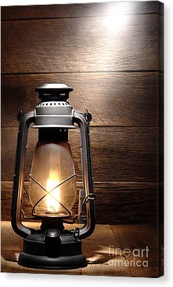 The Old Lamp Canvas Print