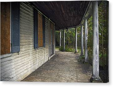 The Old Lowman House Canvas Print by Brian Wallace
