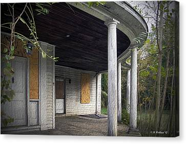 The Old Lowman Place Canvas Print by Brian Wallace