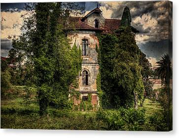 The Old Manor Canvas Print
