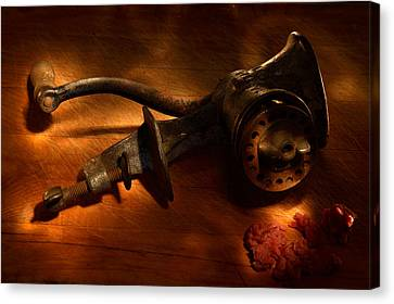 The Old Meat Grinder Canvas Print by Daniel Alcocer
