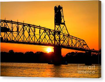 The Old Mighty Span Canvas Print by Olivier Le Queinec