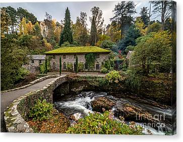 The Old Mill Canvas Print by Adrian Evans