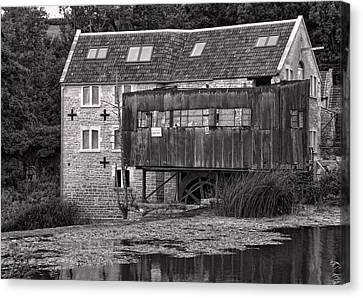 Canvas Print featuring the photograph The Old Mill Avoncliff by Paul Gulliver