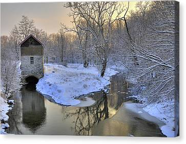 The Old Mill Canvas Print by Dan Myers
