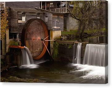 The Old Mill Detail Canvas Print