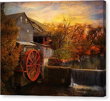 The Old Mill Canvas Print by Jai Johnson