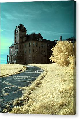 The Old Odd Fellows Home Color Canvas Print by Luke Moore