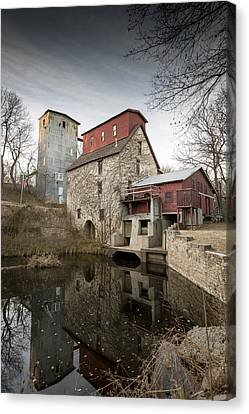The Old Oxford Mill Canvas Print by Chris Harris