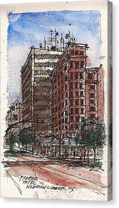 The Old Pioneer Hotel Canvas Print