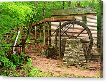 The Old Rice Mill Canvas Print by Gregory Ballos