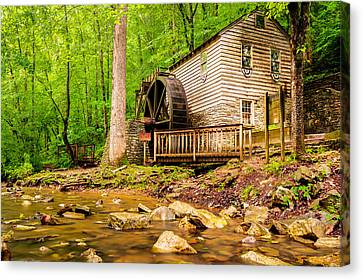 The Old Rice Mill In Tennessee Canvas Print by Gregory Ballos
