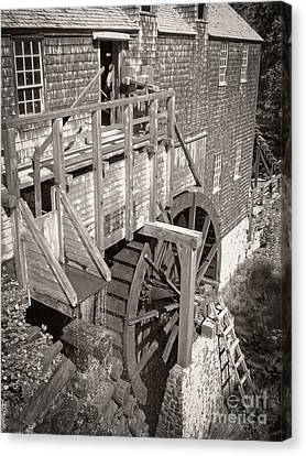 The Old Saw Mill Canvas Print by Edward Fielding