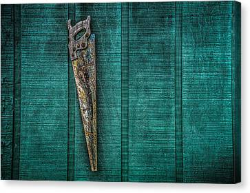 The Old Saw Canvas Print by Ray Congrove