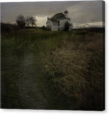 The Old School House Canvas Print