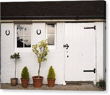 The Old Shed Canvas Print by Louise Heusinkveld