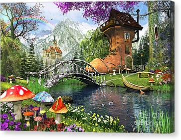The Old Shoe House Canvas Print