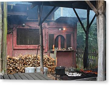 The Old Smoke Shack Canvas Print