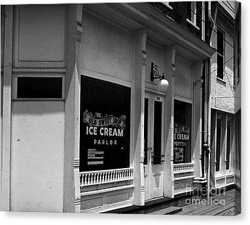 The Old Sweet Shop Canvas Print by   Joe Beasley