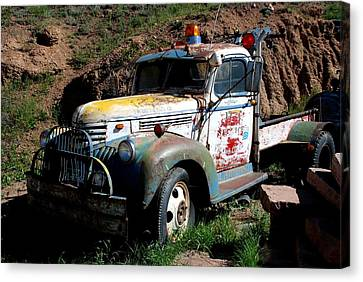 The Old Truck Canvas Print by Dany Lison