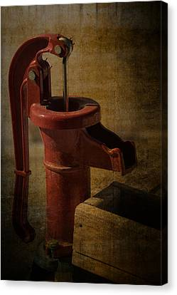 The Old Water Pump Canvas Print