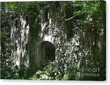 The Old Watermill Canvas Print by Kathleen Pio