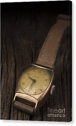 The Old Wrist Watch Canvas Print by Edward Fielding