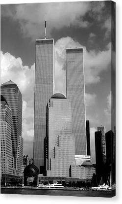 The Old Wtc Canvas Print by Joann Vitali