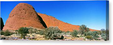 The Olgas, Australia Canvas Print by Panoramic Images