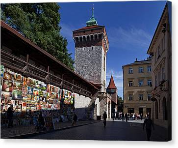 The Open Air Art Gallery Canvas Print by Panoramic Images