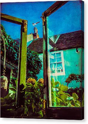 Canvas Print featuring the photograph The Open Window by Chris Lord