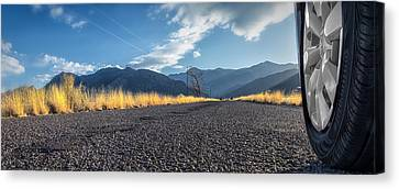 The Open Road 2114 Canvas Print