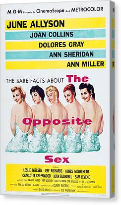 Dolores Canvas Print - The Opposite Sex, Us Poster Art by Everett