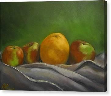 The Orange Canvas Print