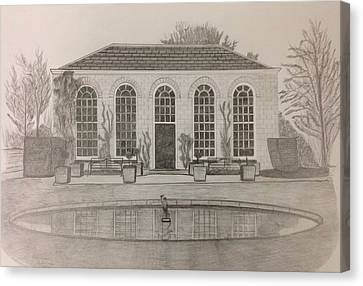 The Orangery Canvas Print by Norman Richards