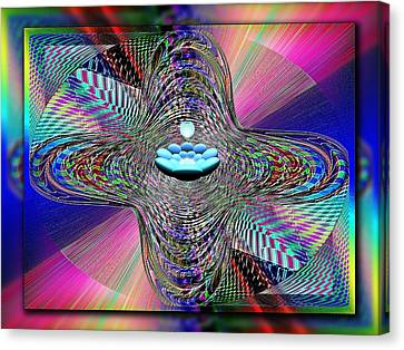 The Orb And The Bowl Canvas Print by Tim Allen