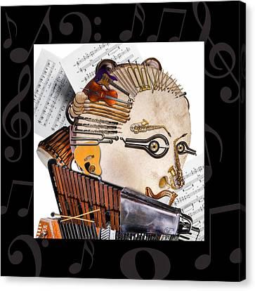 The Orchestra Canvas Print by Alessandro Della Pietra