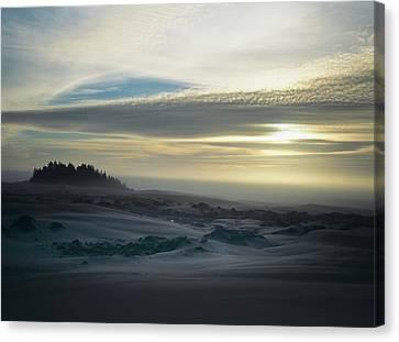 The Oregon Coast Has Many Moods Canvas Print by Robert L. Potts