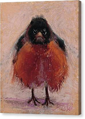 The Original Angry Bird Canvas Print by Billie Colson