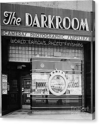 The Original Darkroom Canvas Print by Edward Fielding
