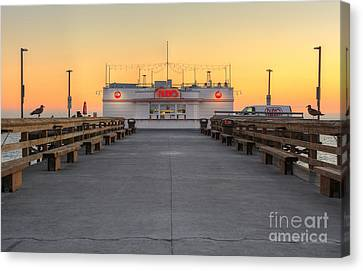 The Original Ruby's Diner Canvas Print
